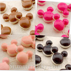 Cabochon Resin Cartoon Macaroon