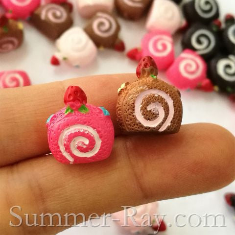 Cabochon Resin Cake Roll
