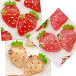 Cabochon Resin Strawberry