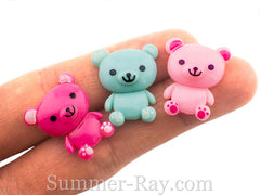 Cabochon Resin Teddy Bear