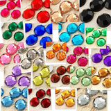 Rhinestones 10mm - 100 to 1000 pcs
