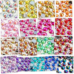 Rhinestones 4mm AB - 1000, 3000, 5000 or 10,000 pieces