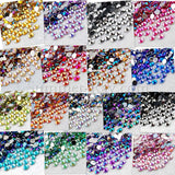 Rhinestones 4mm AB Pointed - 500, 2000 or 5000 pieces