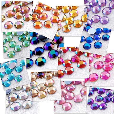 Rhinestones 5mm AB - 500, 2000, 5000 or 10,000 pieces