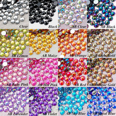 Rhinestones 5mm AB Globe Cut - 500, 2000 and 5000 pieces