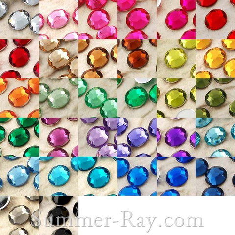 Rhinestones 5mm - 1000, 3000 or 5000 pieces