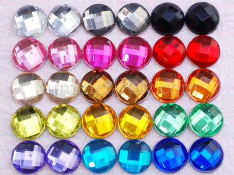 6 mm Globe Cut Rhinestones