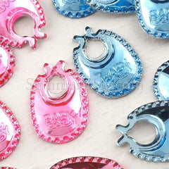 Jewels Baby Bib 18mm - 100 pieces