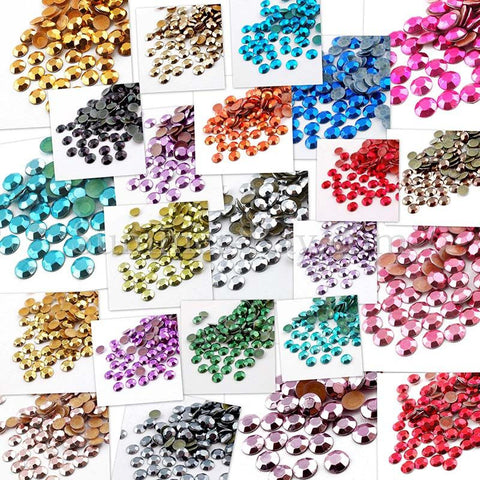 Hot Fix Rhinestud SS20 - 720 pieces