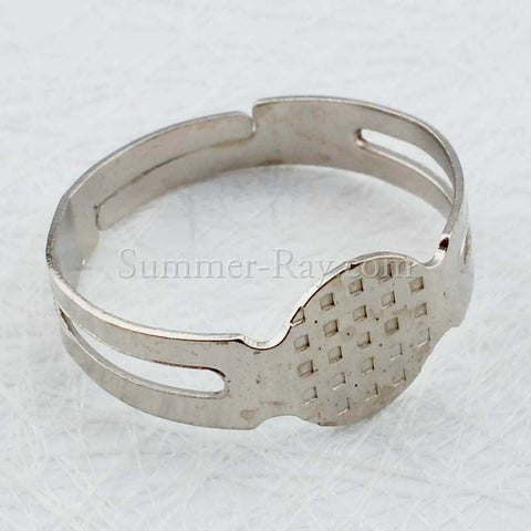 White Gold Plated Ring Finding