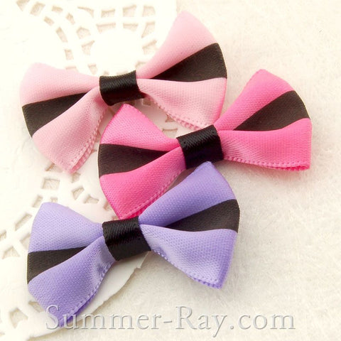 Satin Ribbon Bow - 100 pieces