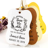 Personalized Little Violin Save the Date (III) Tags with Twine