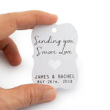 Personalized Sending You S'more Love Favor Tags