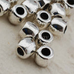 Tibetan Silver Spacer Beads (T281) - 50 pieces