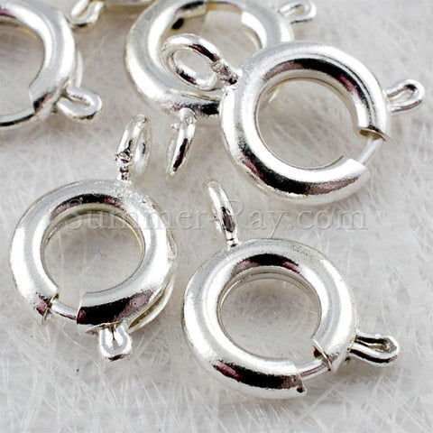 Silver Plated Springing Clasps