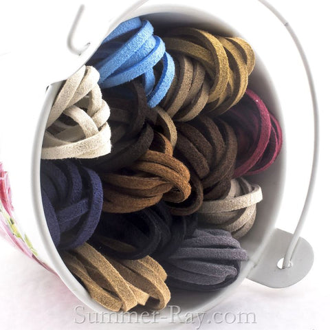 Suede Cord Strings