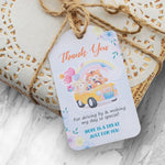 Thank You for Driving by A Treat for You Birthday Favor Tags Party Parade Tags