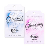Personalized Watercolor Baby Shower Favor Tags/Thank You Tags/Gift Tags