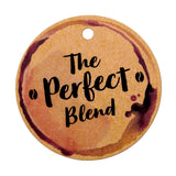 The Perfect Blend Tea Favors Coffee Favors Wedding Party Thank You Gift Tags