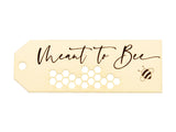 Meant to Bee Wedding Favors Gift Tags Thank You Tags