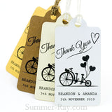 Personalized Our Love Story Thank You Gift Tags