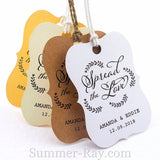 Personalized Spread the Love Little Violin Gift Tags
