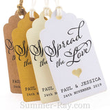 Personalized Spread the Love Royale Gift Tags