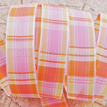 Tartan Ribbons 16mm - 5 meters