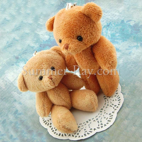 Mini Teddy Bear 120 mm - 10 or 50 pieces