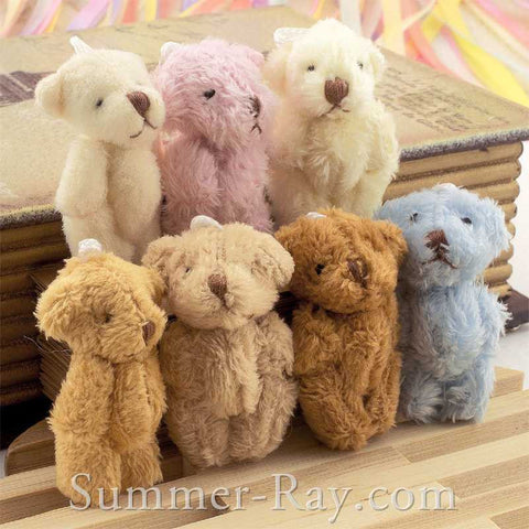 Mini Teddy Bear 45mm - 10 or 50 pieces