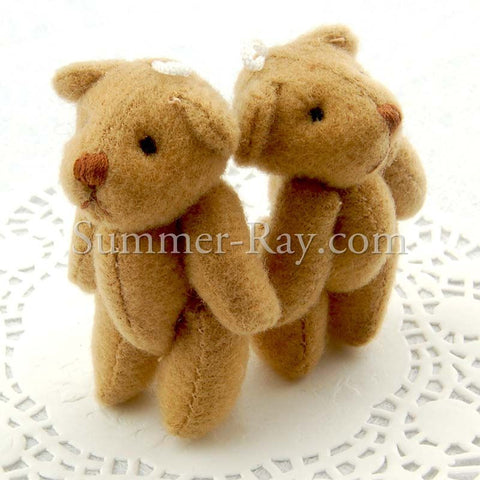 Mini Teddy Bear 50mm - 10 or 50 pieces