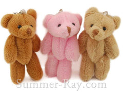 Mini Teddy Bear 80mm - 10 pieces