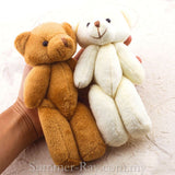 Mini Teddy Bear 140 mm - 10 pieces