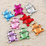 Jewels Teddy Bear 15mm - 100, 250, 500 or 1000 pieces