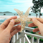 Wooden Sea Theme Laser Cutout DIY Craft Party Decoration Room Decoration Seahorse, Helm, Sea Turtle, Starfish