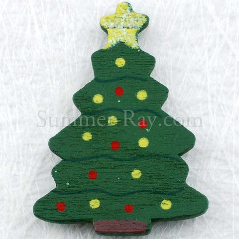 Wooden Christmas Tree Embellishment