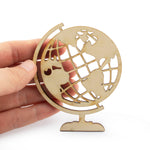 Laser Cut Wooden Travel Theme Cutout Scrapbooking Embellishment DIY Craft 5 Designs
