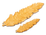 Laser Cut Wooden Feather Scrapbooking Embellishment Jewelry Making