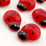 Wooden Embellishments - Ladybug 100 and 120 pieces