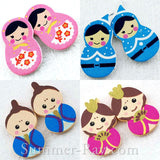 Wooden Dolls Embellishment