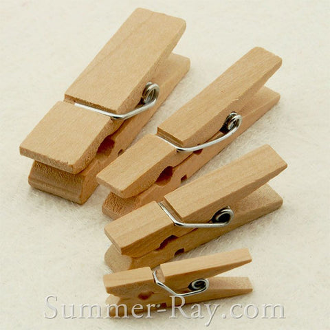 Wooden Peg 25 mm 35 mm 45 mm and 45 mm Jumbo