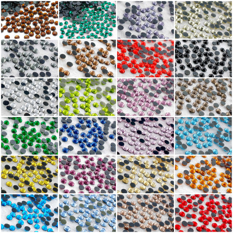 Hot Fix Rhinestone SS10 - 1000 pieces