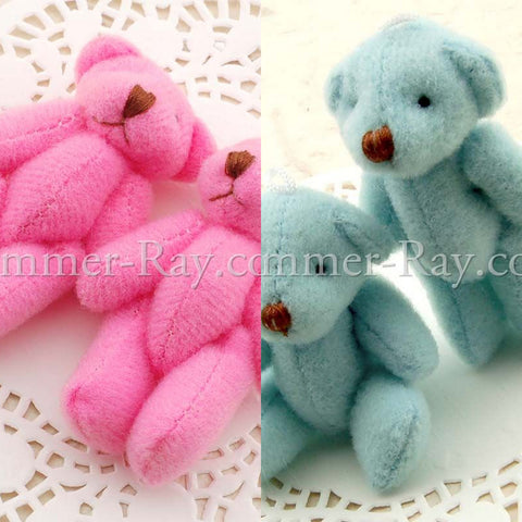Mini Teddy Bear 55mm - 10 or 50 pieces
