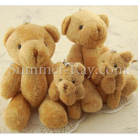 Mini Teddy Bear Family 80mm and 150mm - 1 family