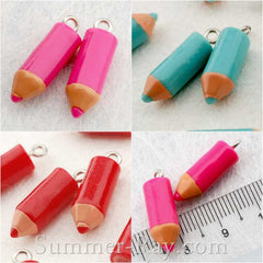 Cabochon Resin Pencil with Eye Bolt