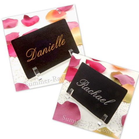 Personalized Blackboard Place Card - 10 to 100 pieces