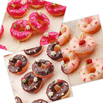 Cabochon Resin Donuts with Strawberry