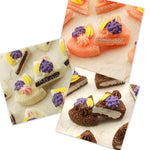 Cabochon Resin Sponge Cake Fruit Slices
