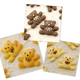 Cabochon Resin Teddy Bear Cookie