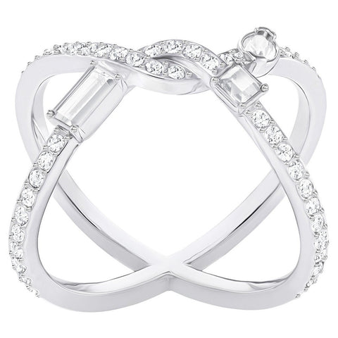 ea3ae1052 ... clear and coloured crystal necklaces and bracelets, the magnificent  pieces from the Swarovski ring collection represent modern luxe design at  its best ...